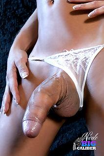 Tranny Cock In Panties
