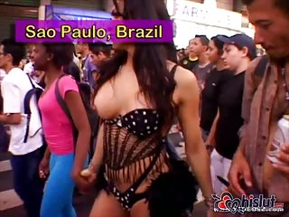 Fantastische Transenparty in Brasilien