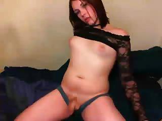 Teen Transe posiert für Webcam