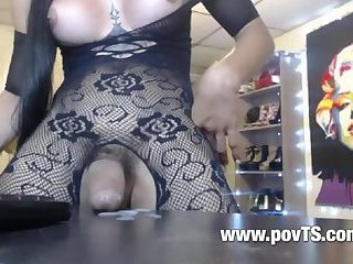 Young shemale sex movie